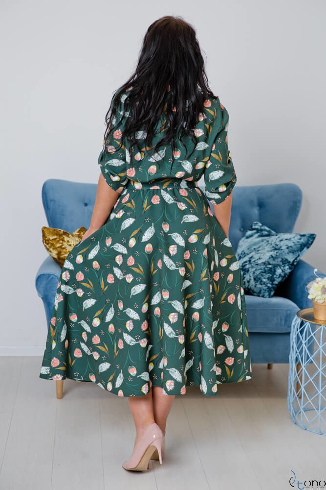Sukienka RAVELA Plus Size Wzór 2