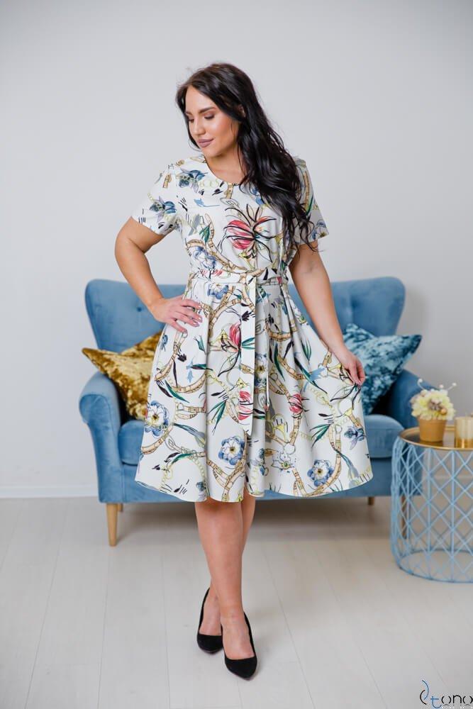 Sukienka ROSITA Plus Size Wzór 3