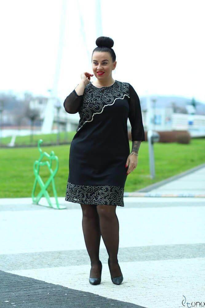 Sukienka ROZETTA Plus Size Wzór 1