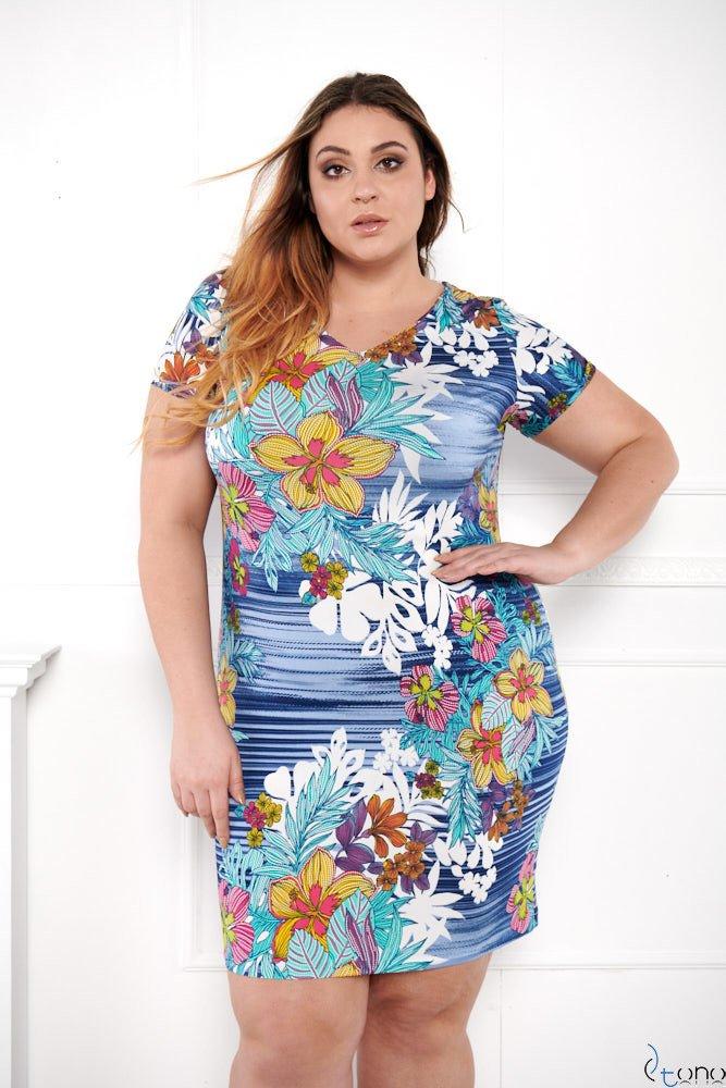 Sukienka STAMPINA Plus Size Wzór 11