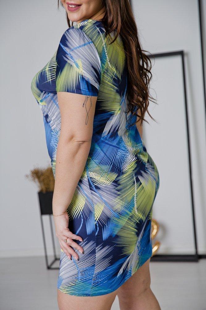 Sukienka STAMPINA Plus Size Wzór 26