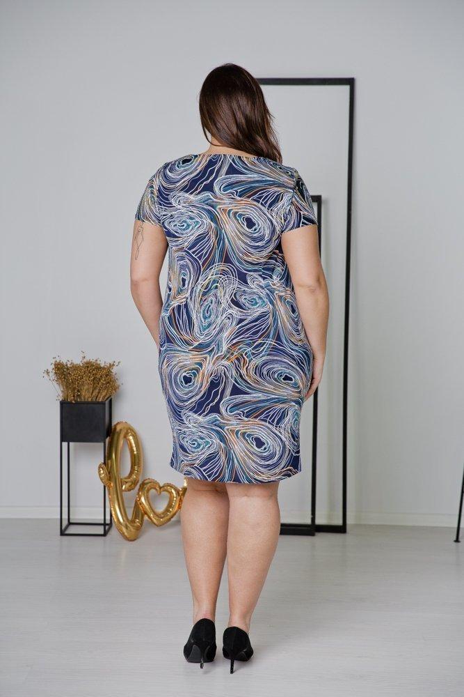 Sukienka STAMPINA Plus Size Wzór 29