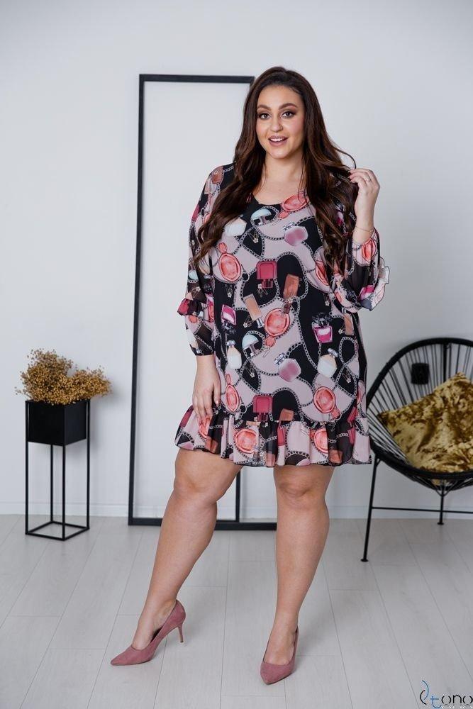 Sukienka VENNEA Plus Size Wzór 4