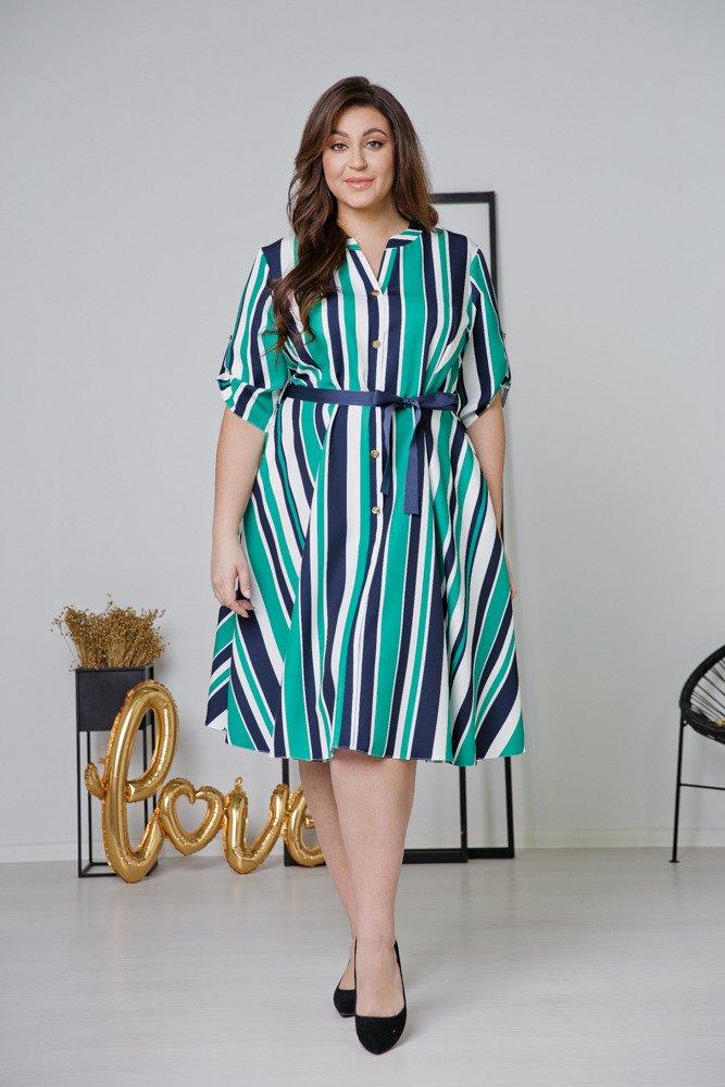 Sukienka VERTIGO Plus Size Wzór 5