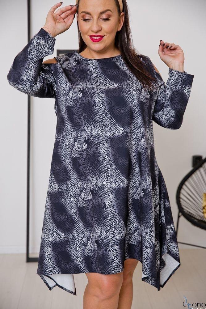 Sukienka VIRAGO Plus Size Wzór 1