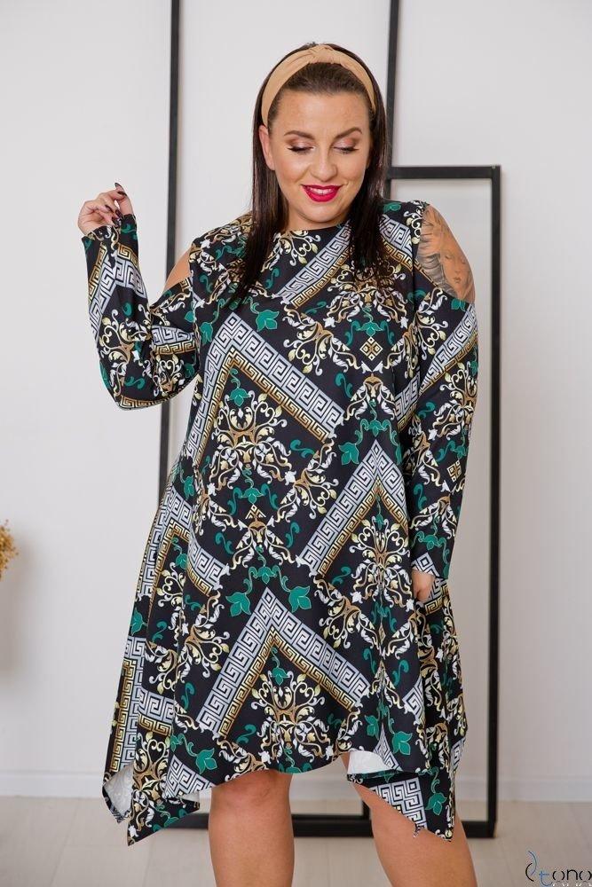 Sukienka VIRAGO Plus Size Wzór 7