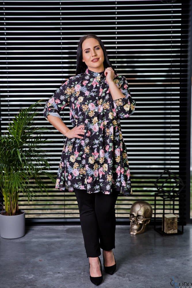 Tunika KAFTA Plus Size Koszulowa Wzór 1