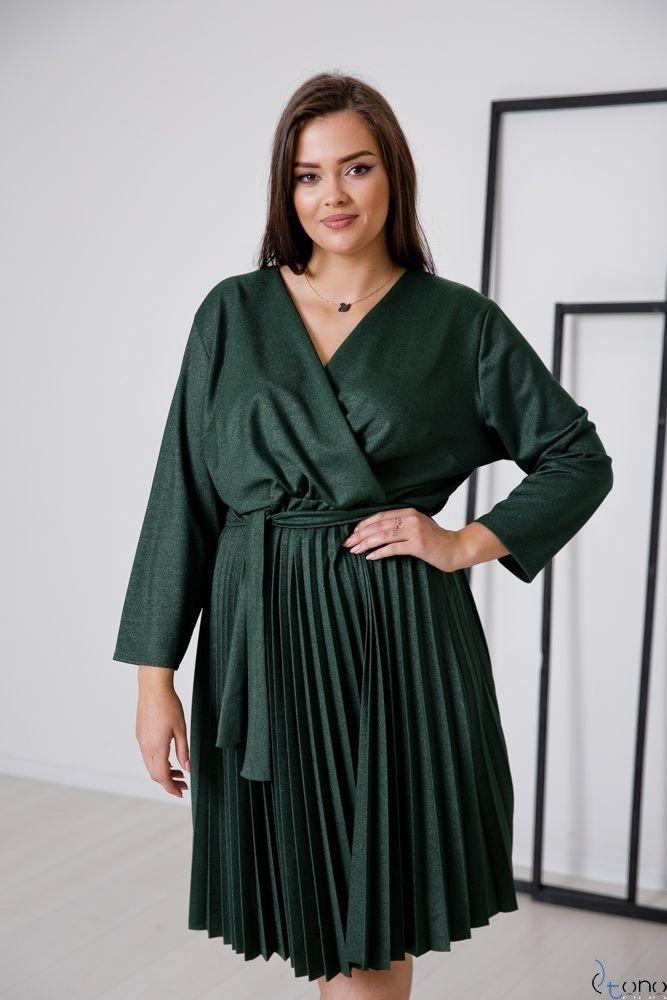 Zielona Sukienka BRILLA Plus Size