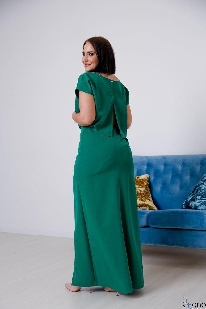 Zielona Sukienka PRIMMA Wizytowa Plus Size