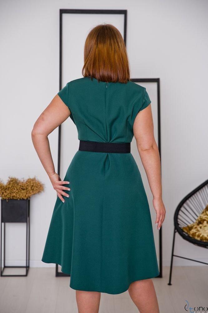 Zielona Sukienka PURRES Plus Size