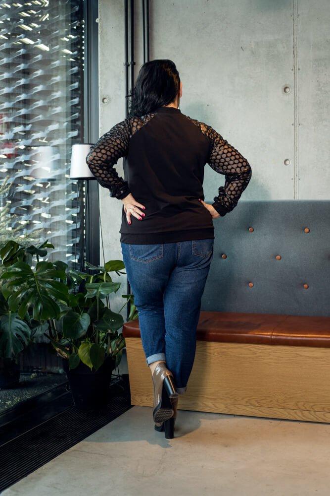 Bluza damska ORLANDO Bomberka Casualowa wzór 2