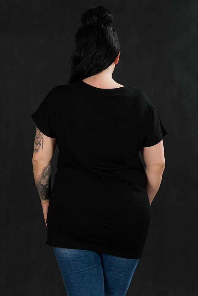 Bluzka Damska ANIA-D Duże Rozmiary