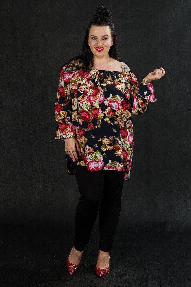 Bluzka MERIDA Krawatka