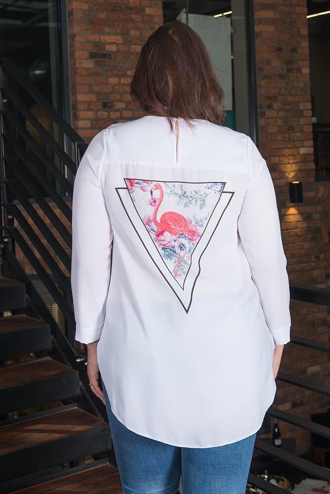 Bluzka damska LEA Koszulowa modna Plus Size