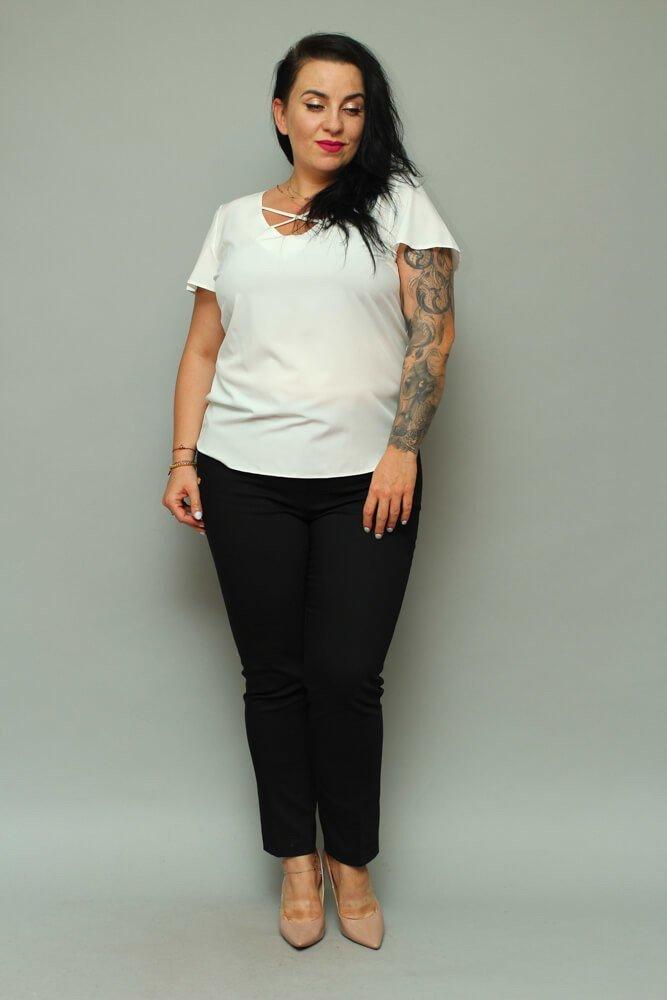 Bluzka damska SARAY Plus Size Dekolt