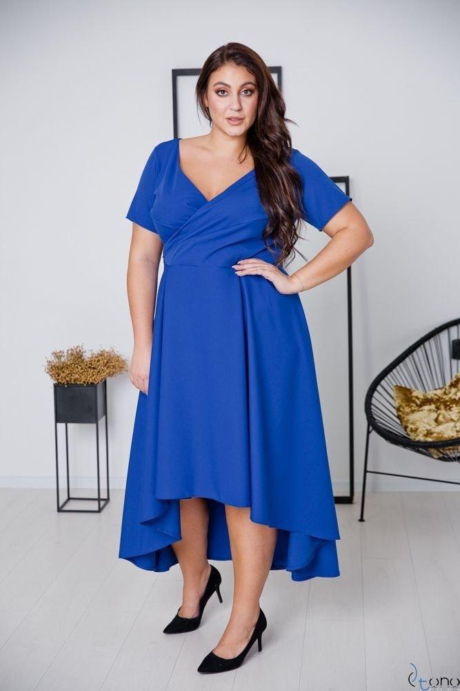 Chabrowa Sukienka CATENA Plus Size