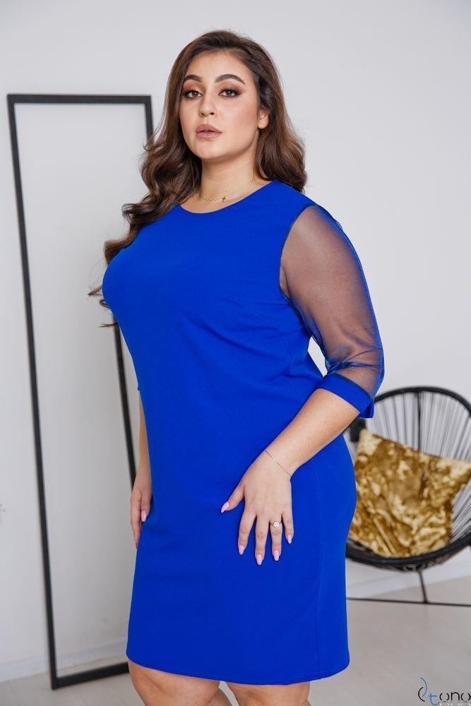Chabrowa Sukienka DORYEN Plus Size