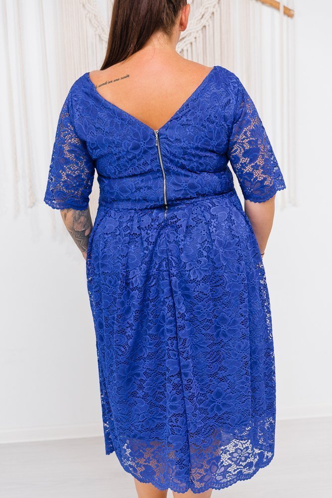 Chabrowa Sukienka FLAYA Plus Size