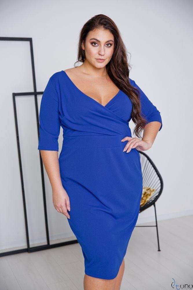 Chabrowa Sukienka GASPAR Plus Size
