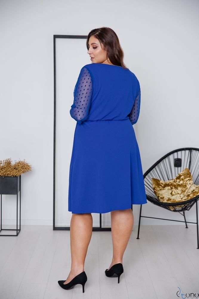 Chabrowa Sukienka INGA Plus Size