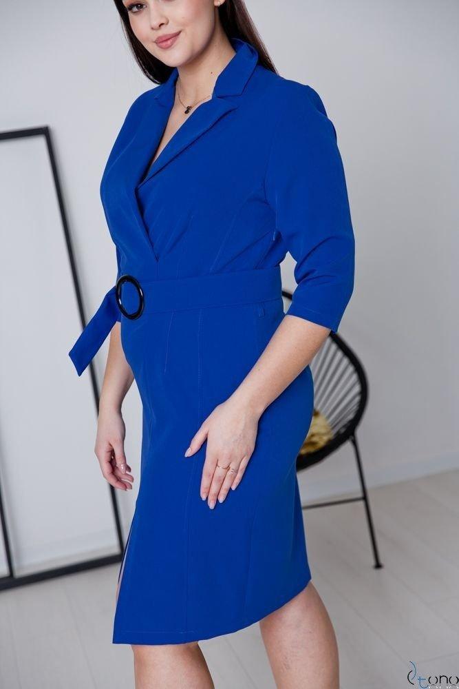 Chabrowa Sukienka KELES Plus Size