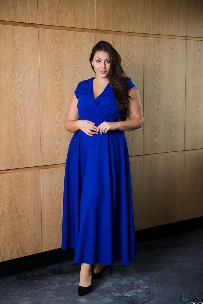 Chabrowa Sukienka LOREDANA Plus Size