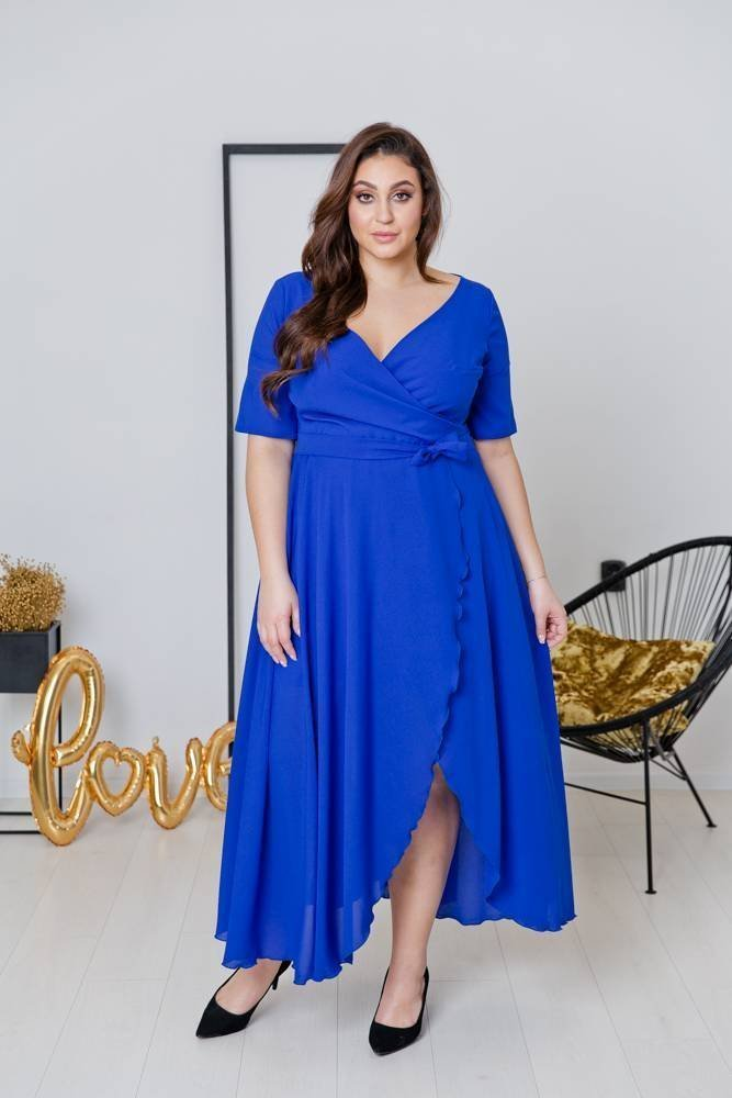 Chabrowa Sukienka NADY Plus Size