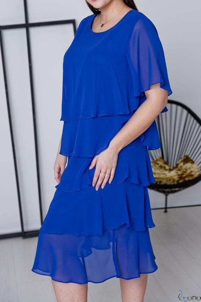 Chabrowa Sukienka ORINA Plus Size