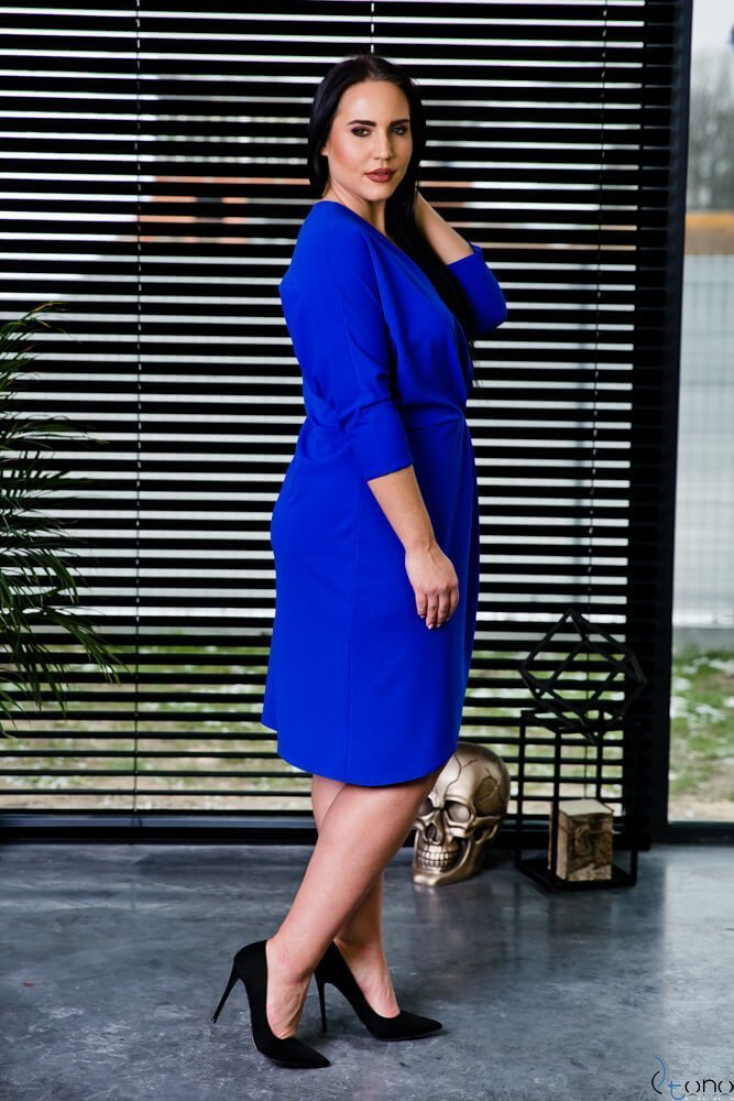 Chabrowa Sukienka SOFIJA Plus Size