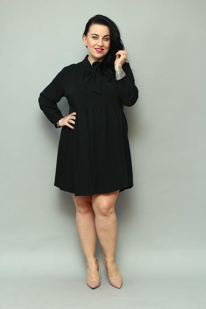 Czarna Sukienka ANCONA
