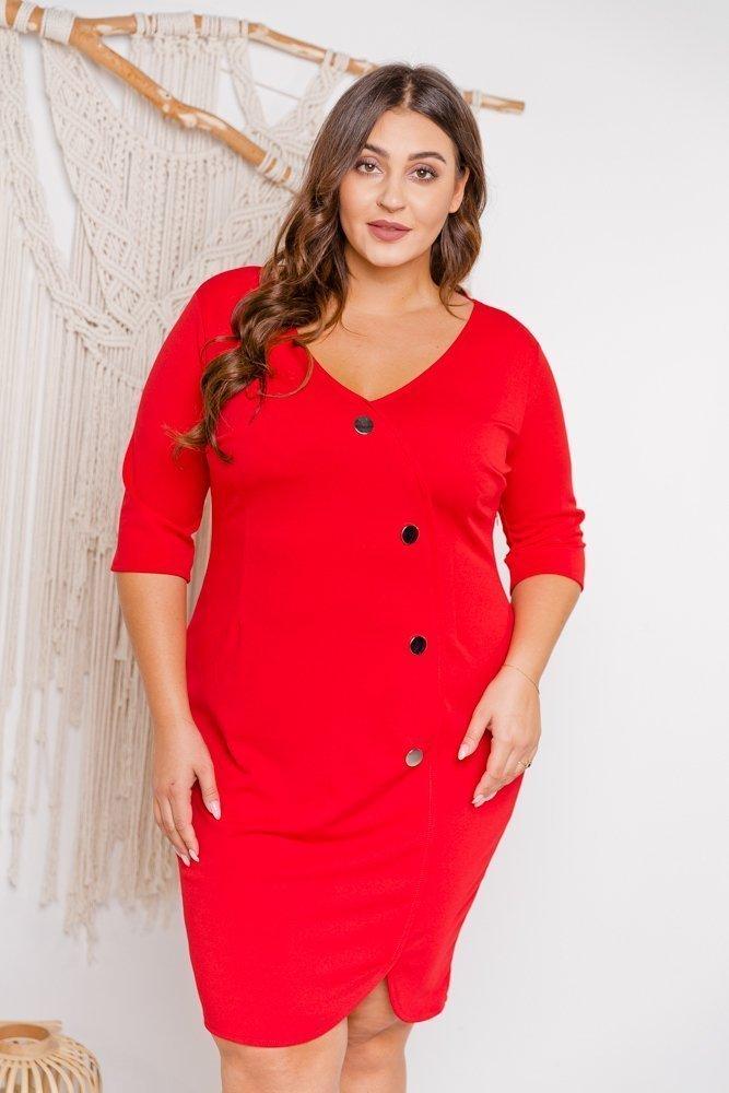 Czerwona Sukienka NOTEBA