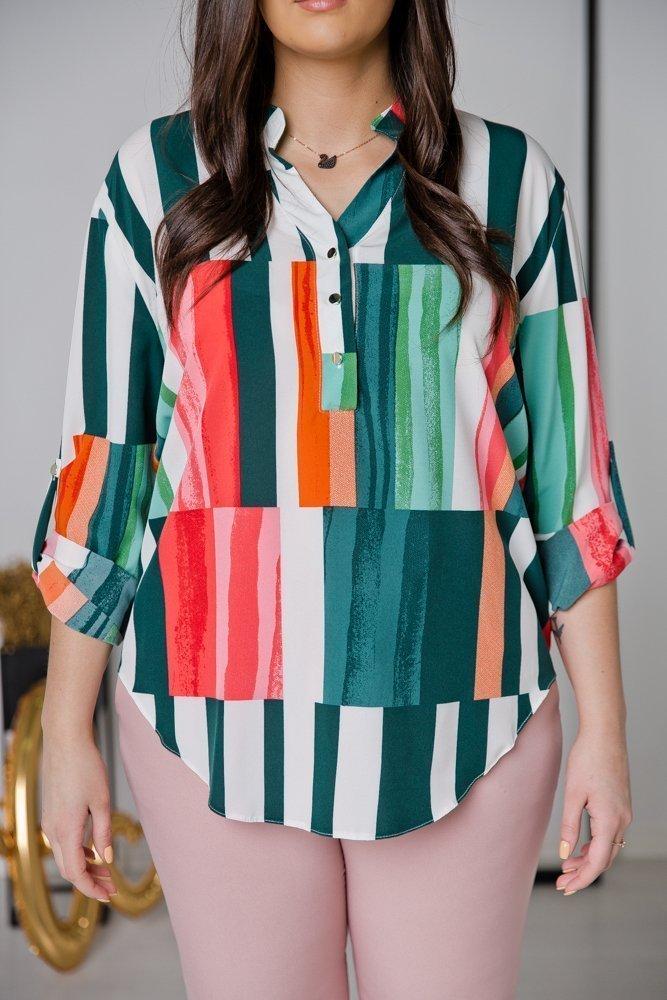 Koszula TONI Plus Size Wzór 2