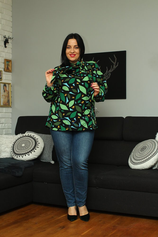Koszula damska ENIMA Plus Size wzór 2