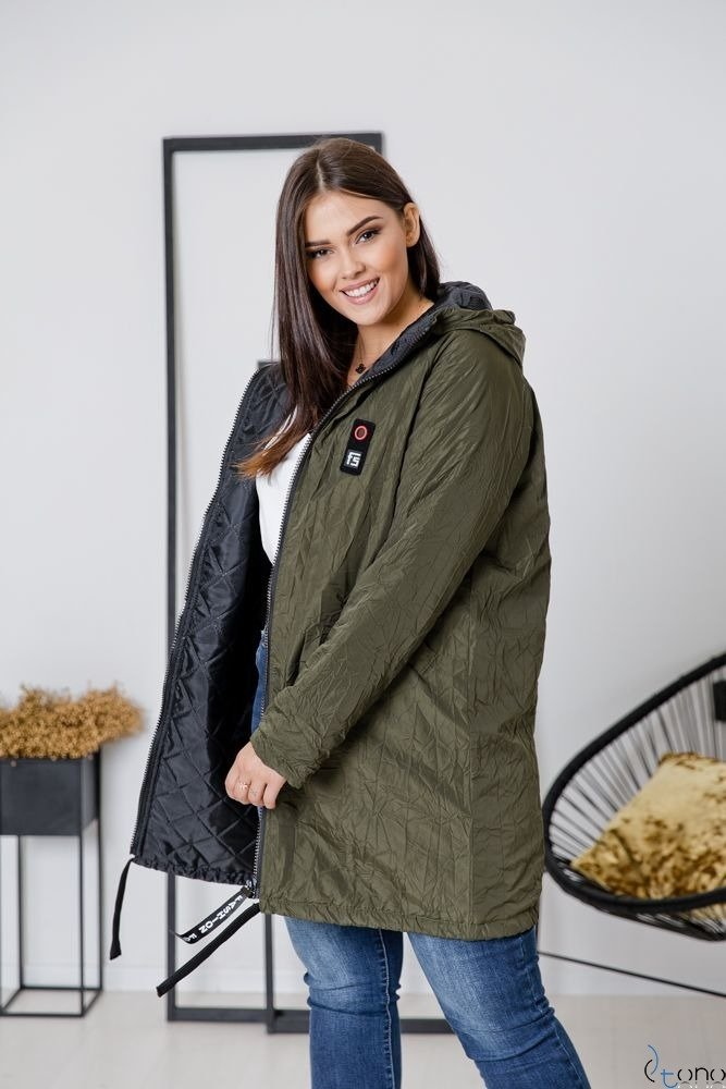 Kurtka Khaki CRESH Plus Size