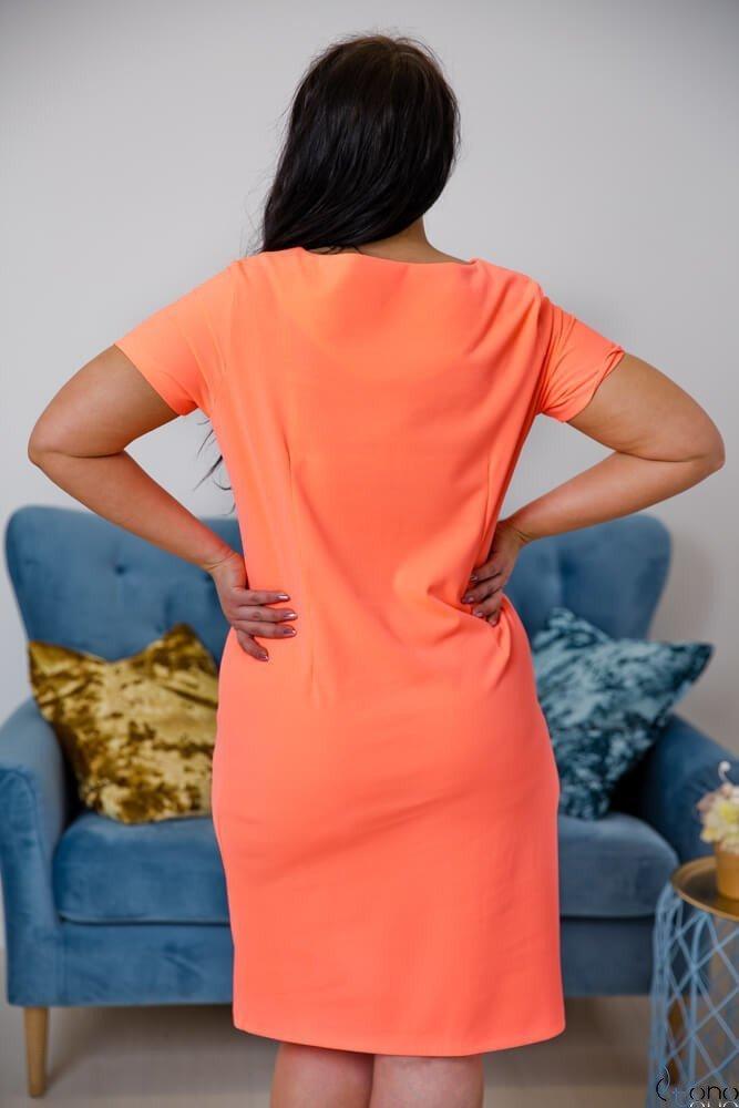 Neonowa Sukienka MELIA Plus Size