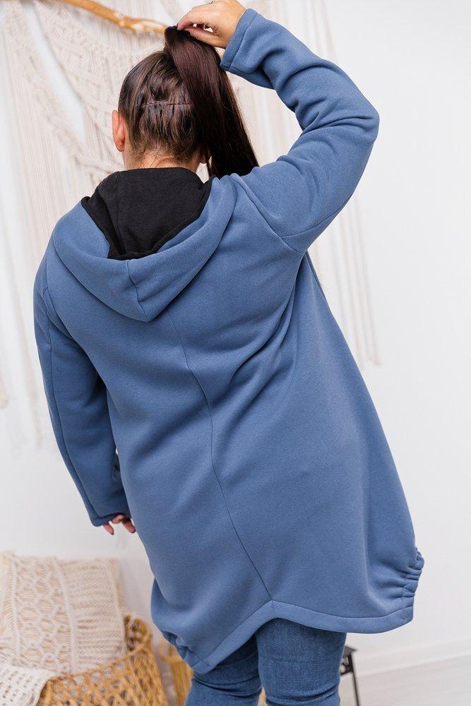 Niebieska Bluza MADELLA Plus Size