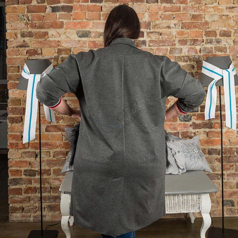 Płaszcz FURBY Plus Size Designerski