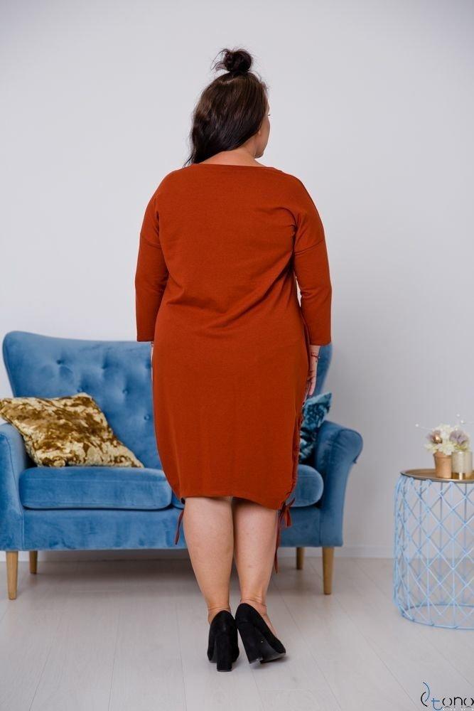 Ruda Tunika CLIMMA Plus Size Wzór 3