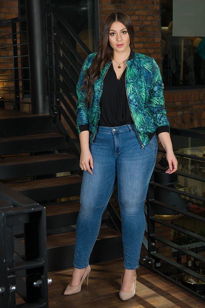Spodnie damskie LILI Jeansy Plus Size