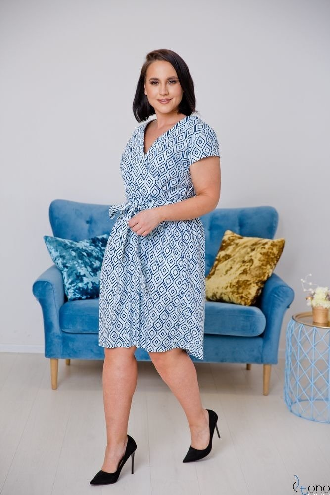 Sukienka AGOSTA Plus Size Wzór 9