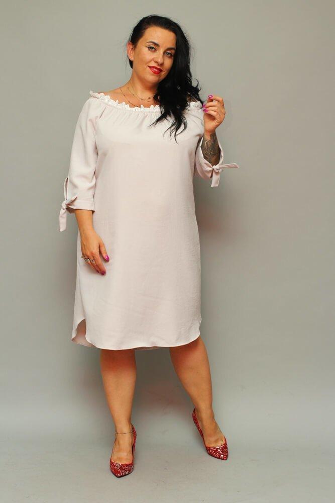 Sukienka CASORLA Hiszpanka Plus Size