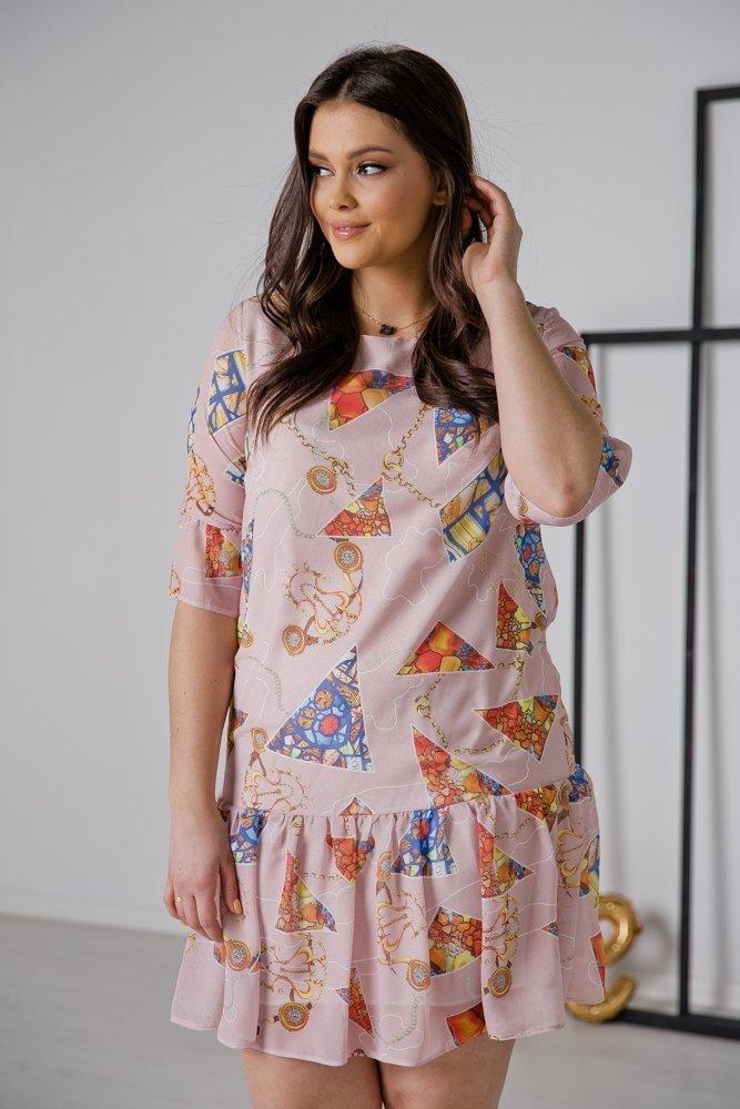 Sukienka ESTI Plus Size Wzór 14
