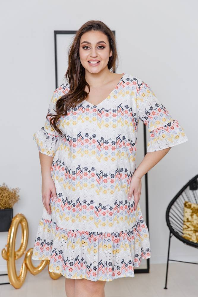 Sukienka HOLI Plus Size Wzór 3