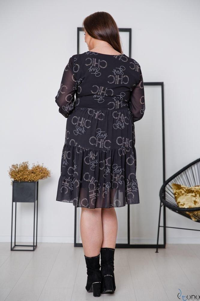 Sukienka MORENNA Plus Size Wzór 6
