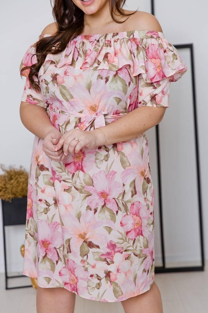Sukienka SATIA Plus Size Wzór 4
