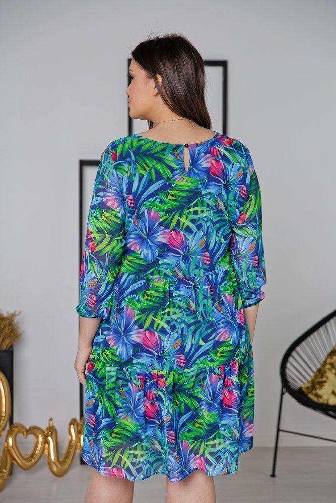 Sukienka SORA Plus Size Wzór 4
