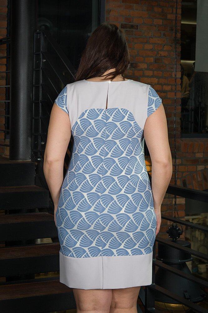 Sukienka Wizytowa SHELL Plus Size