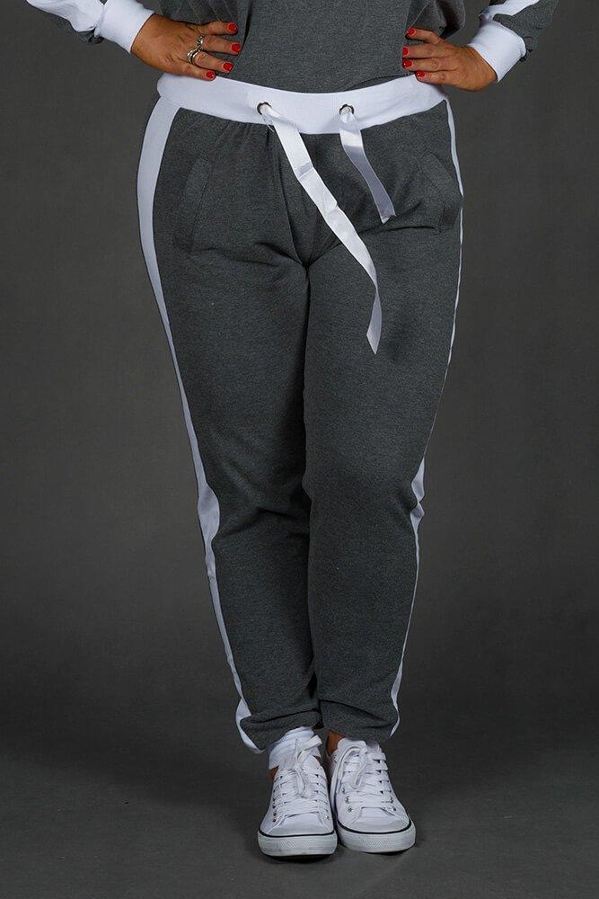 Szary Dres MONACO Plus Size