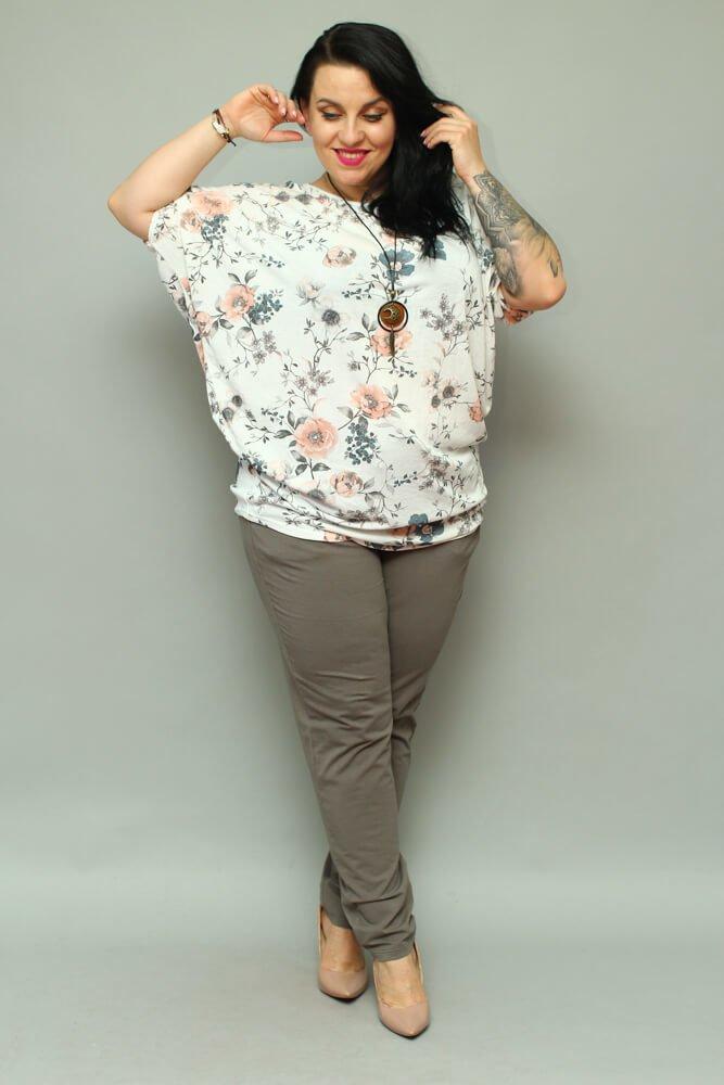 Tunika damska GOTRA Kimono Wisiorek Plus Size