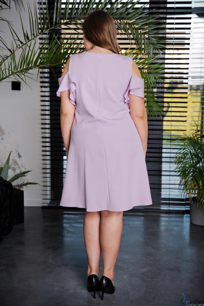 Wrzosowa Sukienka BARBIE Plus Size